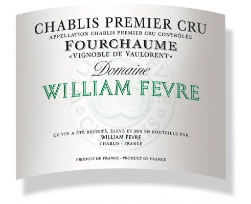 Chablis FOURCHAUME 1er Cru Domaine W.Fèvre 2012-12,5°