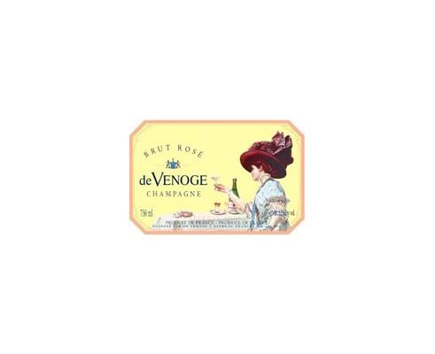 Champagne DE VENOGE Rosé (étui) -