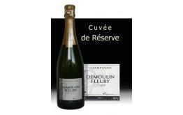 Champagne DEMOULIN FLEURY Réserve Brut -