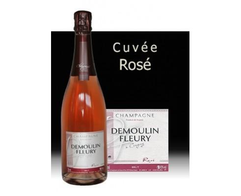 Champagne DEMOULIN FLEURY Rosé -