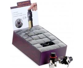 Bouchon CHAMPAGNE avec pompe intégrée -