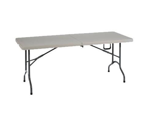 TABLE PLIANTE L 182 x P 74 x H 74 cm -