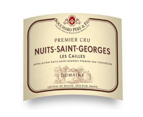NUITS SAINT GEORGES Les Cailles 1er cru 2014-