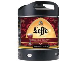 Bières LEFFE de Noël- Fût 6 Litres - Perfectdraft -6°6
