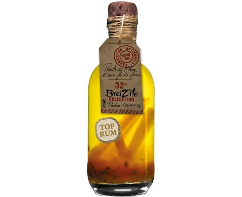 Rhum Arrangé PASSION / ANANAS – BREIZ'ÎLE COLLECTION -32°