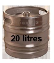Fût de 20 litres de Bière Pression