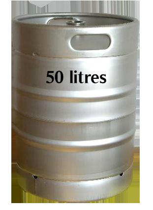 Fût de 50 litres de Bière Pression