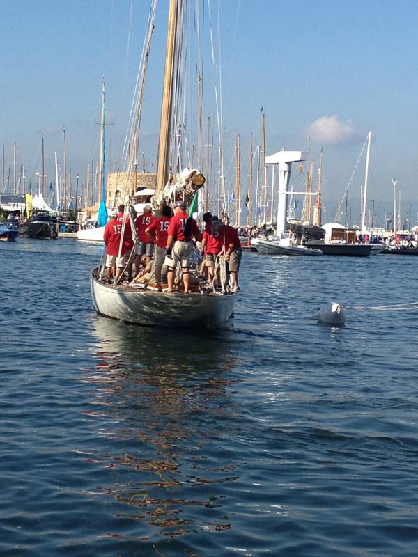 Le Nan - Départ du port pour les Voiles de Saint Tropez 2013