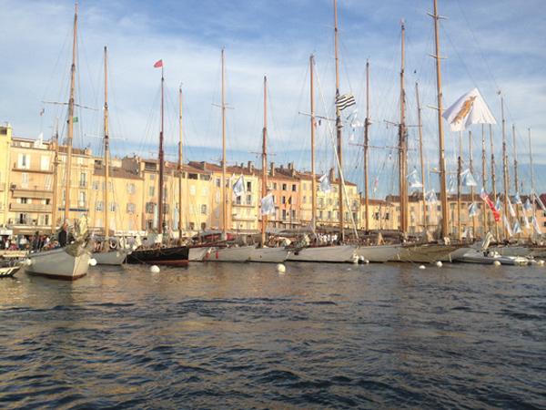 Voiles de Saint Tropez 2013 : Le port