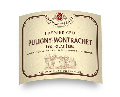 PULIGNY-MONTRACHET Les Folatières BPF 2007