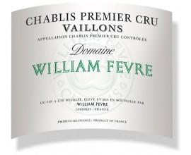 Chablis VAILLONS 1er cru Domaine DWF 2010