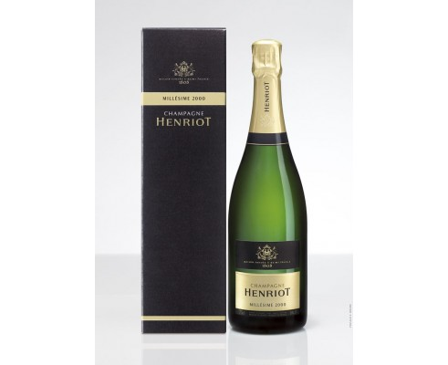 Champagne HENRIOT Millésimé (Etui 1 Bt) 2000-