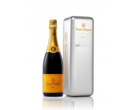 Champagne VEUVE CLICQUOT Carte jaune Métal Fridge