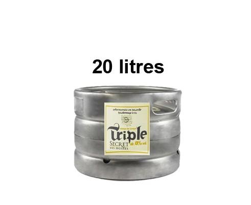 Bières SECRETS DES MOINES - Fût de 20 Litres -8°