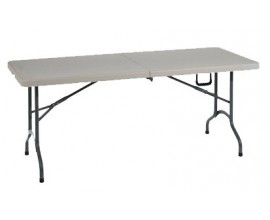 TABLE PLIANTE L 182 x P 74 x H 74 cm -