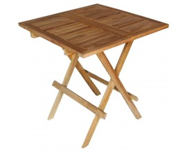 TABLE BOIS 75 * 75 *75cm (Location) -