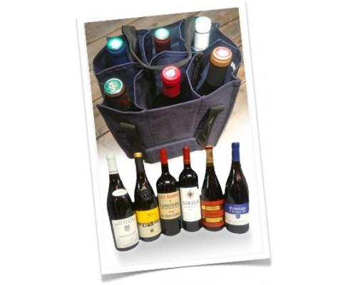 Offre Découverte 6 bouteilles + sac tissu -