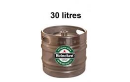 Bières HEINEKEN Fût 30 litres -5°