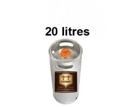Bières CHIMAY DORÉE - Fût 20 litres -4°8