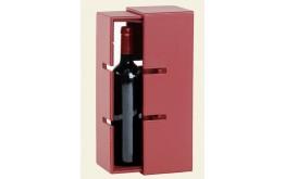 COFFRET TRANSFORMABLE / Rack 5 bouteilles -