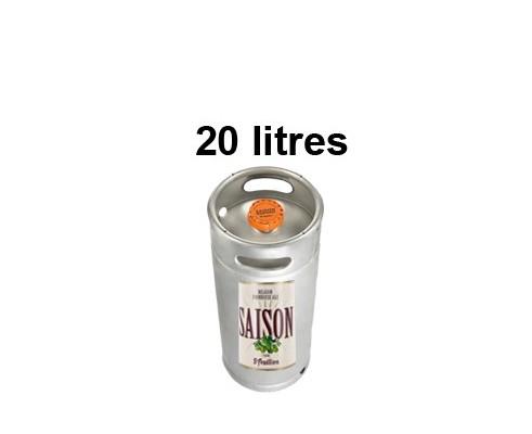 Bières SAINT FEUILLIEN SAISON - Fût de 20 Litres -6°5