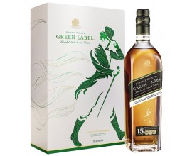 WHISKY JOHNNIE WALKER 15 ans GREEN + 2 Verres -43°