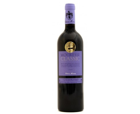 Château MOURESSE Classic Rouge 2017-13°5