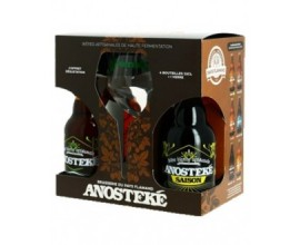 Bières ANOSTEKE Coffret 4*33cl + 1 verre -