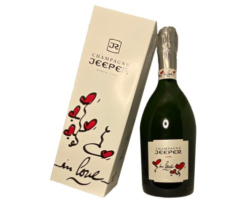 Champagne JEEPER Cuvée In Love -10°