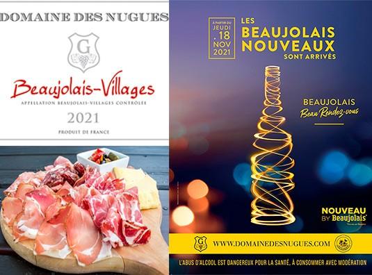 Découvrez un vrai Beaujolais Villages Nouveau