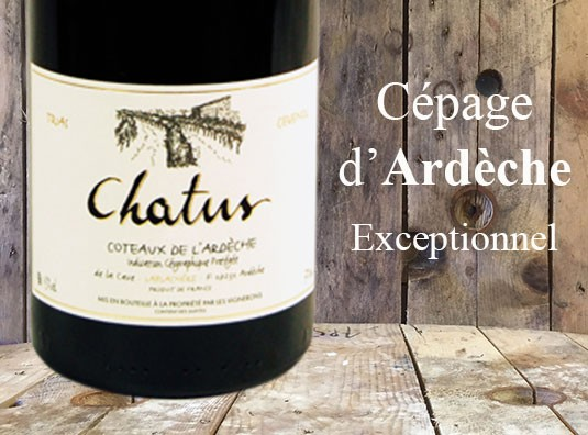 Le Chatus - Cépage roi de l'Ardèche.