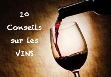 10 conseils sur les vins